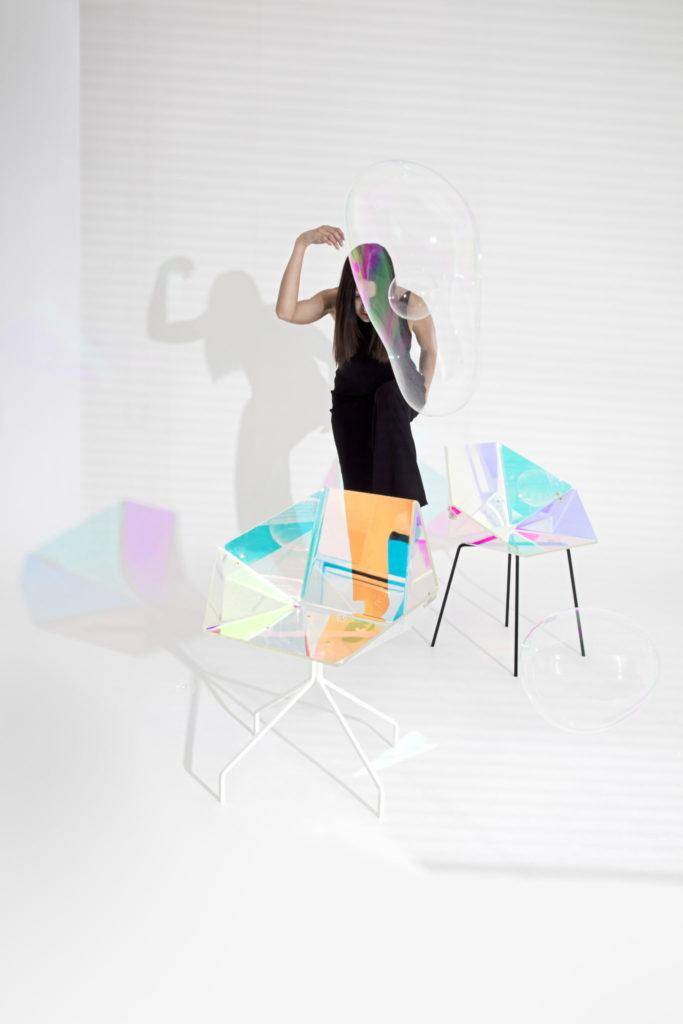 Iridescence in design