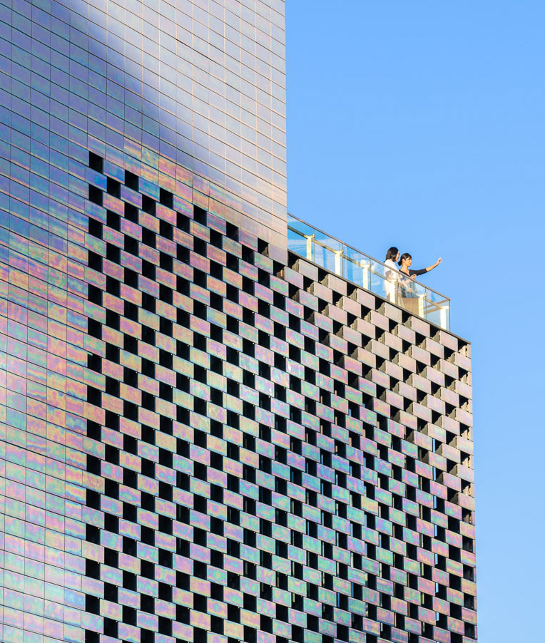 Architecture with iridiscence - Architizer