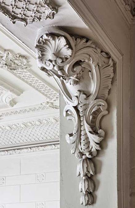Detalle molduras casa decor